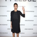 Zoe Saldana makes her pledge