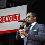 PICS:  Diddy and Russell Simmons at REVOLT TV's First Annual Upfront