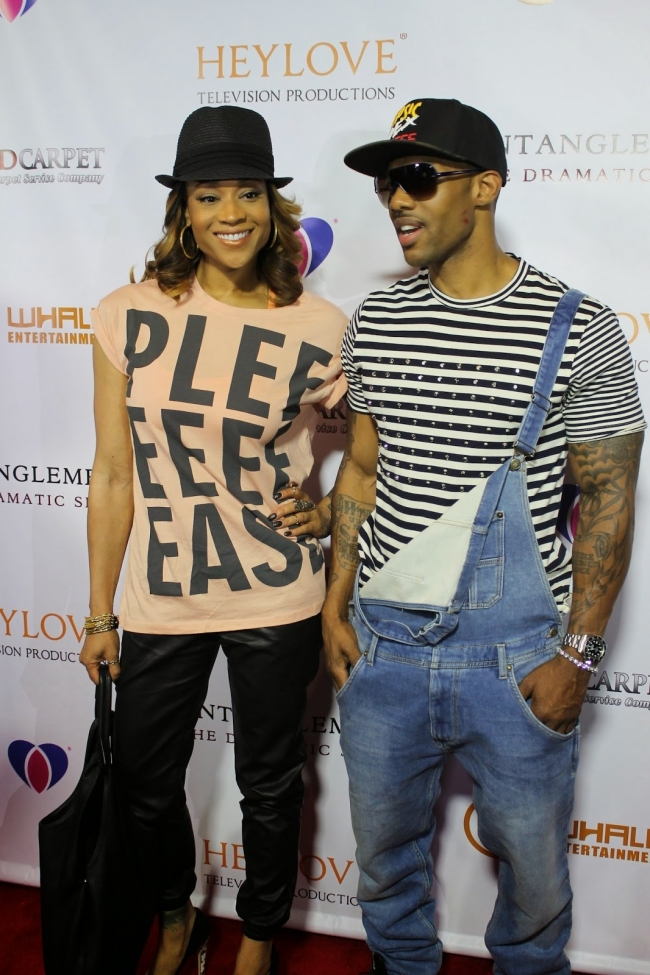 Mimi Faust and boyfriend Nikko of Love and Hip Hop Atlanta