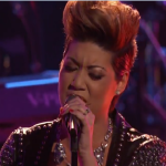 VIDEO:  Jamaica's Tessanne Chin Returns To 'Voice' Stage