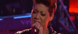 "Tessanne Chin Returned to ""The Voice"" for an encore performance"