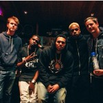 Virgin Islands Hitmaking Producers In Studio with Chris Brown and The Game