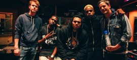 Chris Brown and Rock City hit the recording studio