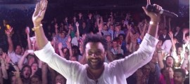 Reggae superstar Shaggy performs in Canada