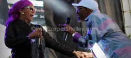 Beres Hammond and Marcia Griffiths Wow the Crowd and each other at 'Groovin in the Park'