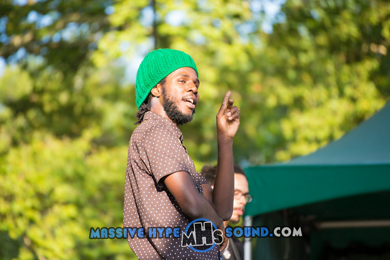 Chronixx & The Zinc Fence Redemption Live at Summer Stage Central Park