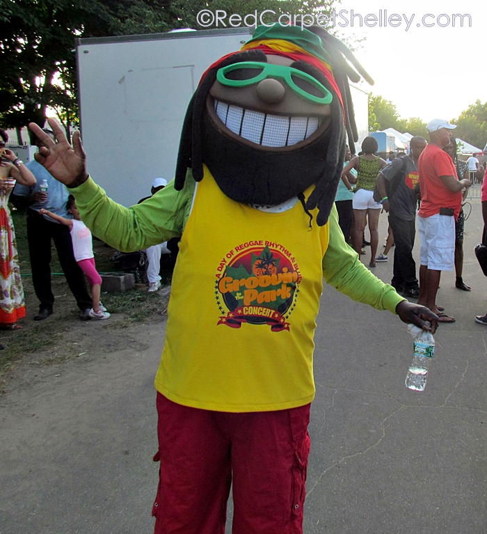 Groovin' in the Park mascot