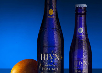 The sweet tasting mango is the newest Myx Fusions flavor