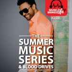 Shaggy Supports Music Brings Life Blood Drive Tomorrow July 2, At Brooklyn Borough Hall