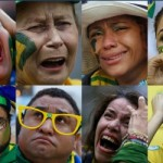 Stunned Brazilian Fans Turn Anger On President Dilma