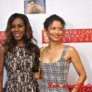 'Belle' Director Amma Asante and Actress Gugu Mbatha-Raw strike a pose