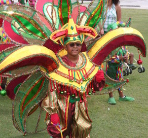 10 Jr. Masquerade Bands competing for Band of the Year at the 2014 Miami Broward Caribbean Carnival
