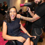 Panasonic Beauty Bar at #NYFW with Rosario Dawson, Michelle Williams and Carmen Electra – PICS INSIDE!