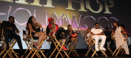 Cast of Love & Hop Hollywood on Stage during Q&A