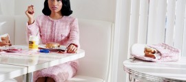 Nicki Minaj wears all clothes and accessories by Chanel