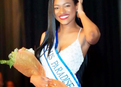 Aniska Tonge is preparing to compete at the Miss World Pageant.