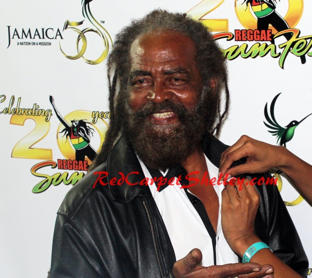John Holt Receives Special Honor at Reggae Sumest 2012.  Photo Credit:  RedCarpetShelley.com