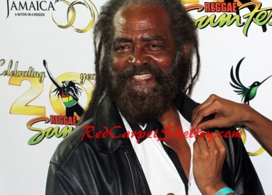 John Holt Receives Special Honor at Reggae Sumest 2012