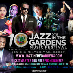 Jazz In The Gardens Celebrates 10th Year With World Class Lineup