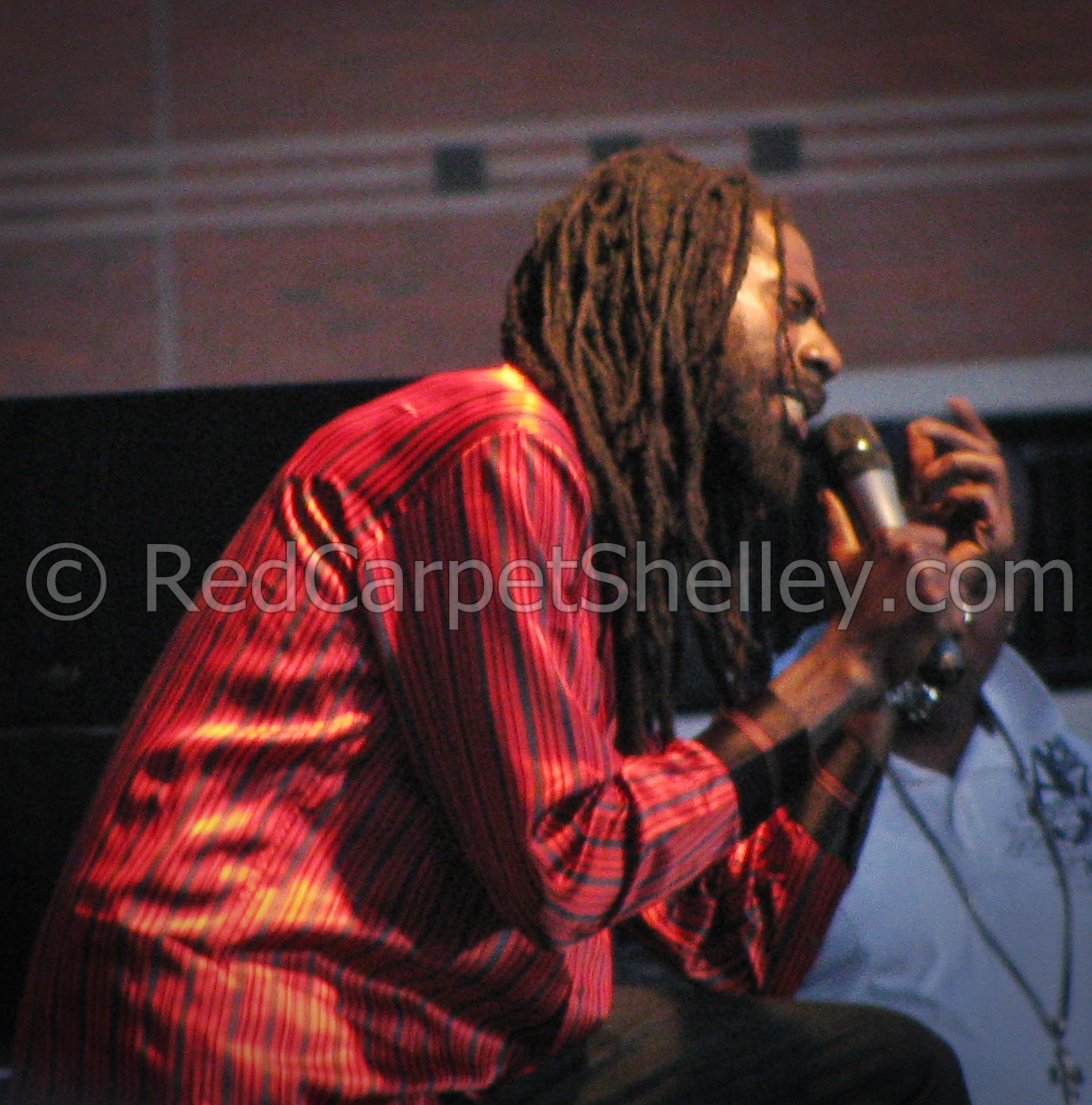 Buju Banton performs at NJ Reggaefest 2009. PHOTO: redcarpetshelley.com