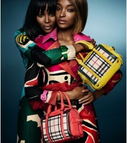 Naomi Campbell and Jourdan Dunn star in new Burberry Spring/Summer Campaign