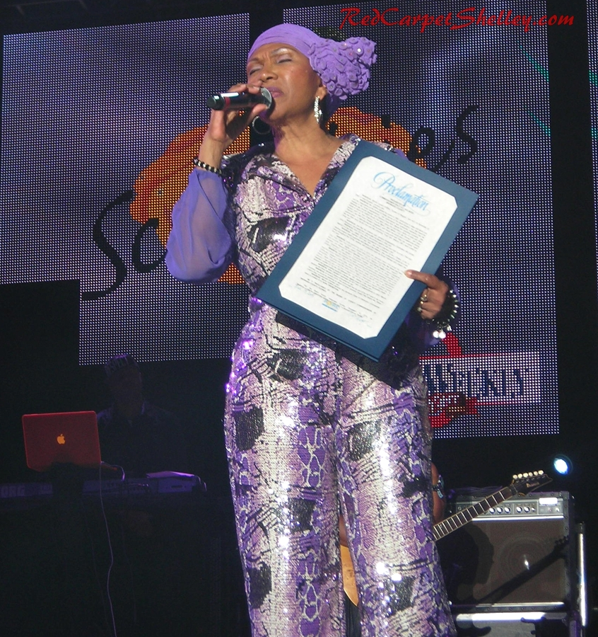 Marcia Griffiths Receives Proclamation