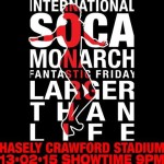 Trinidad's International Soca Monarch 2015 Finalists and VIDEO!