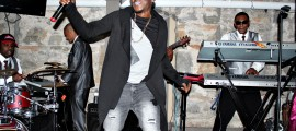 Kenne Blessin blesses attendees at his Album Release Party