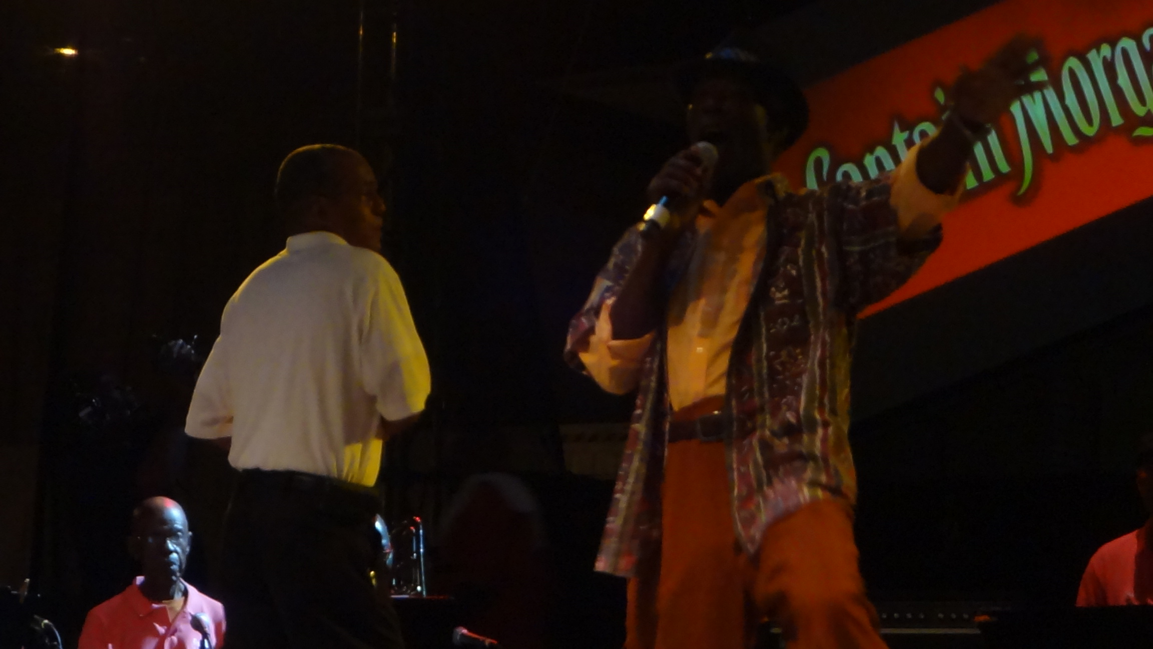 Calypsonian King Swallow Performs at St. Thomas Carnival 2012