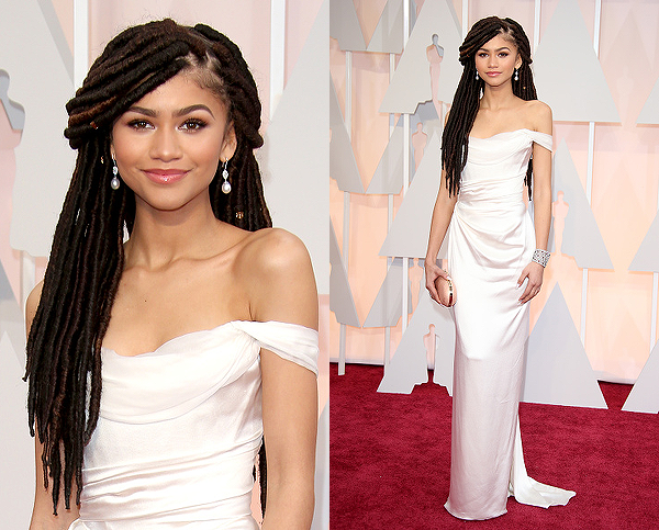 Zendaya and her locs look beautiful at the 87th Annual Academy Awardsndaya and her locs look beautiful at the 87th Annual Academy Awards