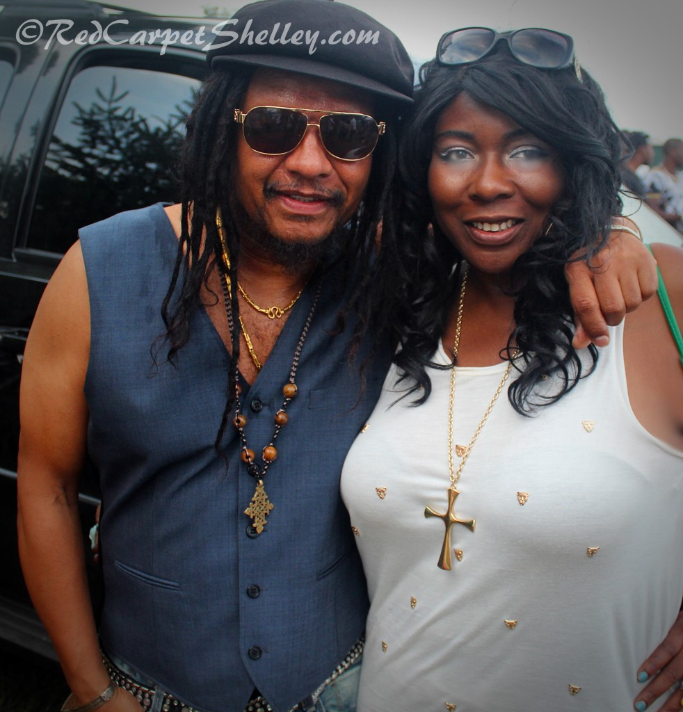 Maxi Priest and Red Carpet Shelley