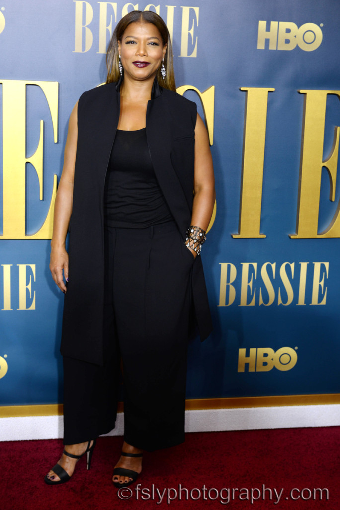 "Queen Latifah stars in HBO's upcoming movie ""Bessie"""