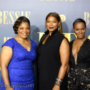 Mo'Nique, Queen Latifah, Tika Sumpter and strike a pose at the Bessie Premiere in NYC