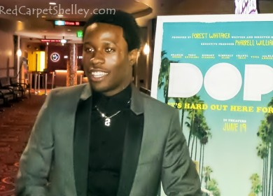Shameik Moore, Star of #DOPEMovie