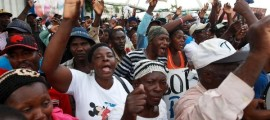 Haitian migrants and Dominicans of Haitian descent protesting the deportations. The Caribbean Community rejects the newly enforced deportation policy. | Photo: Reuters