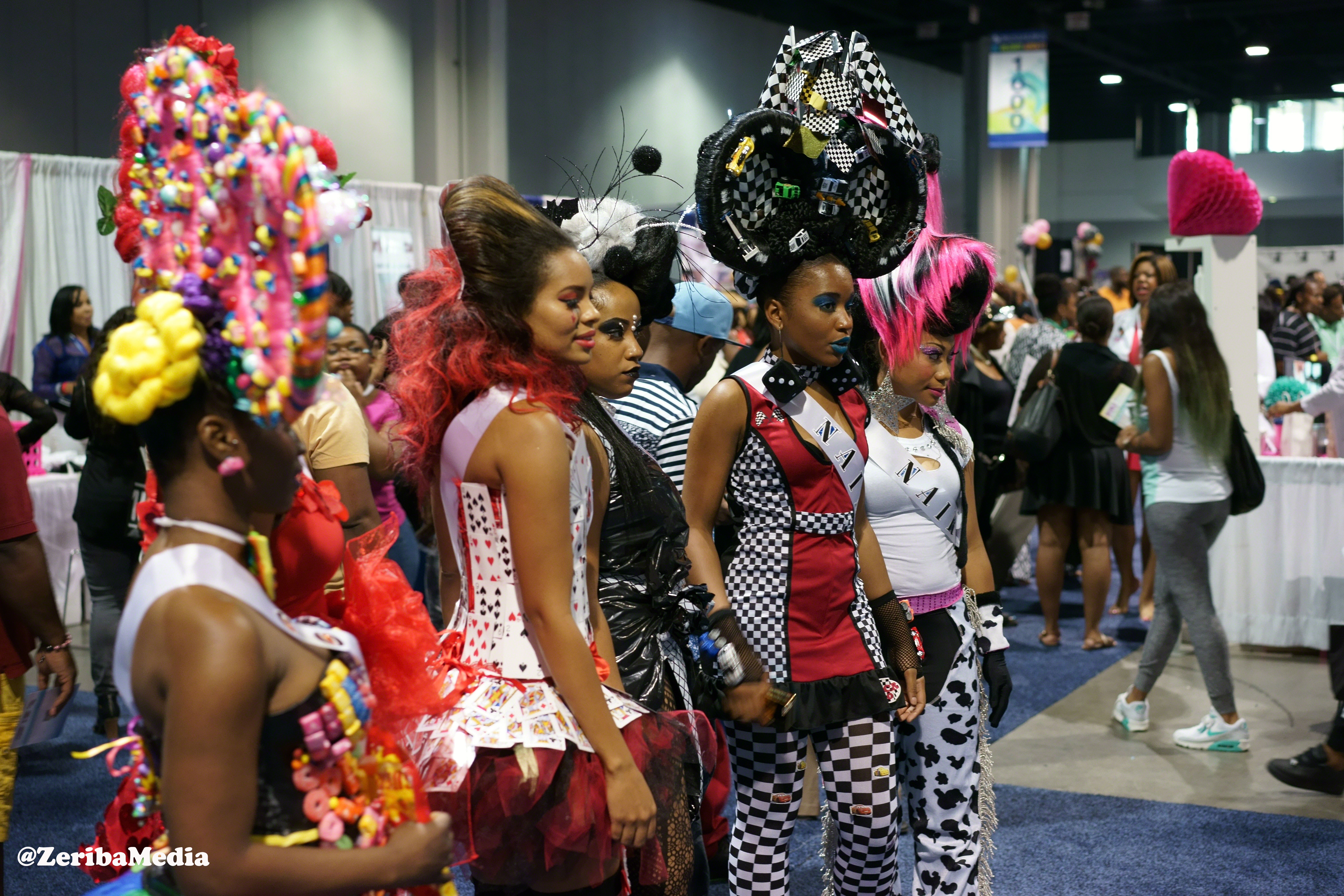 Models Sport Rocking Hairdos At Bronner Bros Hair Show In Atlanta