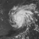 Hurricane Danny nearing the Leeward Islands (Photo: NOAA)