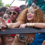 Rihanna Spotted Wining in Barbados for Cropover Carnival with Lewis Hamilton