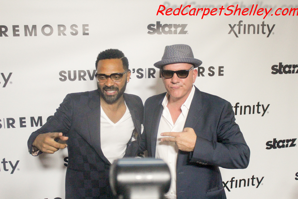 """Survivor's Remorse"" star Mike Epps with creator Mike Malley"