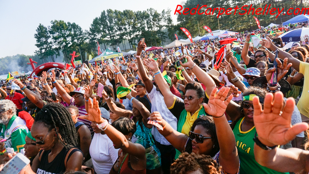 Maxi Priest performs at the 10th Annual Atlanta Jerkfest
