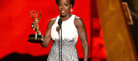 "Viola Davis Becomes first black woman to win ""Lead Actress - Drama Series at the Emmy Awards"
