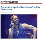 Read Message from Dancehall Star Konshens To Fans, Lovers of Music & Celebrities