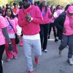 SOCA STAR LYRIKAL LEADS BREAST CANCER WALK IN BROOKLYN