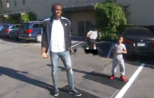 Usain Bolt Challged to a Race by eight year old Jamaican physical trainer