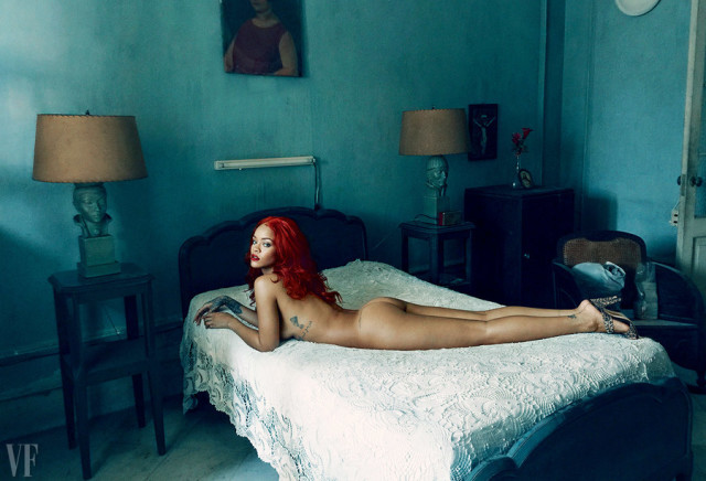 PHOTO: Annie Leibovitz for Vanity Fair.