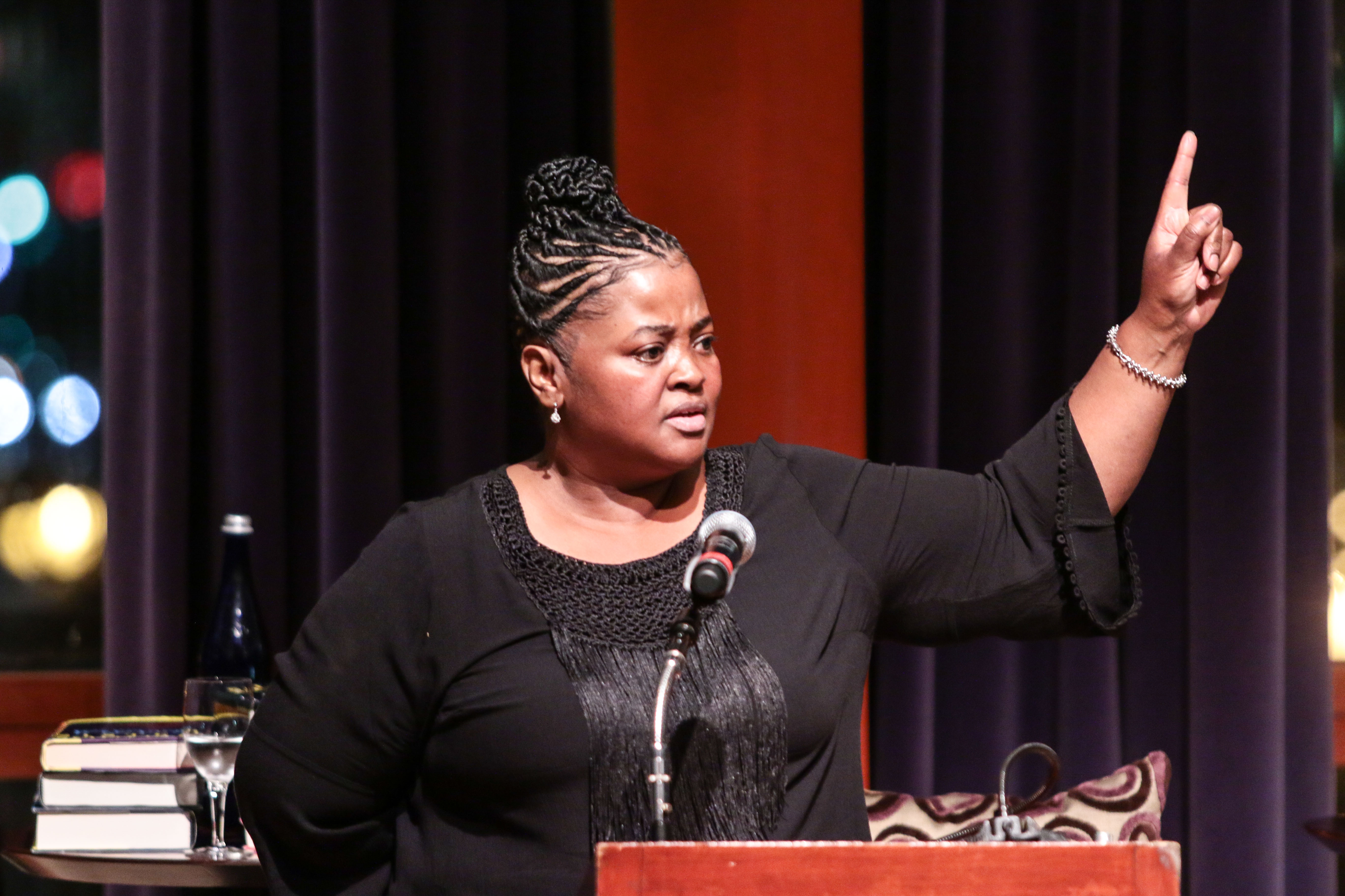 sister souljah Author and recording artist sister souljah on thursday blasted hillary  souljah's  remarks continue a feud with hillary clinton and former.