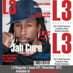 Jah Cure Graces the Cover of L3 Magazine's November Issue