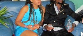 Jah Cure and wife Kamila McDonald