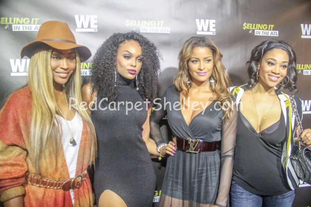 "Cynthia Bailey, Demetria McKinney, Claudia Jordan and Mimi Faust attend ""Selling it in the ATL"" Premiere"