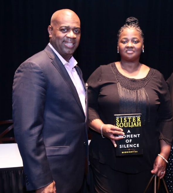 Sister Souljah and Mayor Ras Baraka